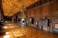 Inside one of the grand rooms of Hatfield House