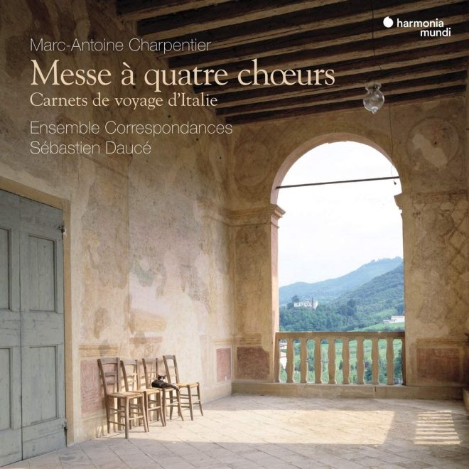 CD cover Charpentier Messe a quatres chœurs