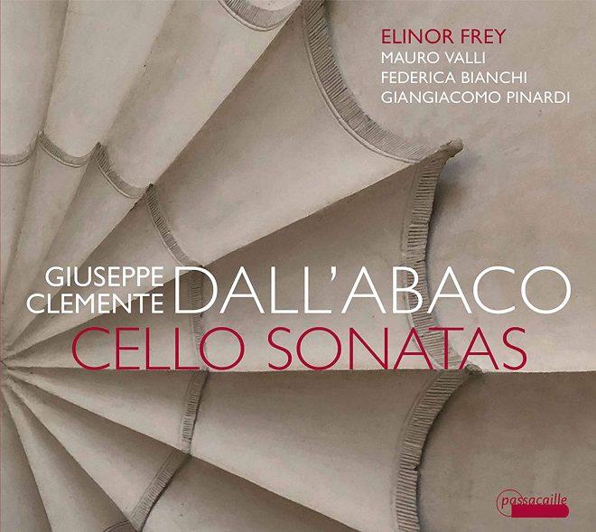 Elinor Frey plays cello sonatas by G C Dall'Abaco