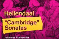 CD cover Hellendaal Cambridge Sonatas Pramsohler