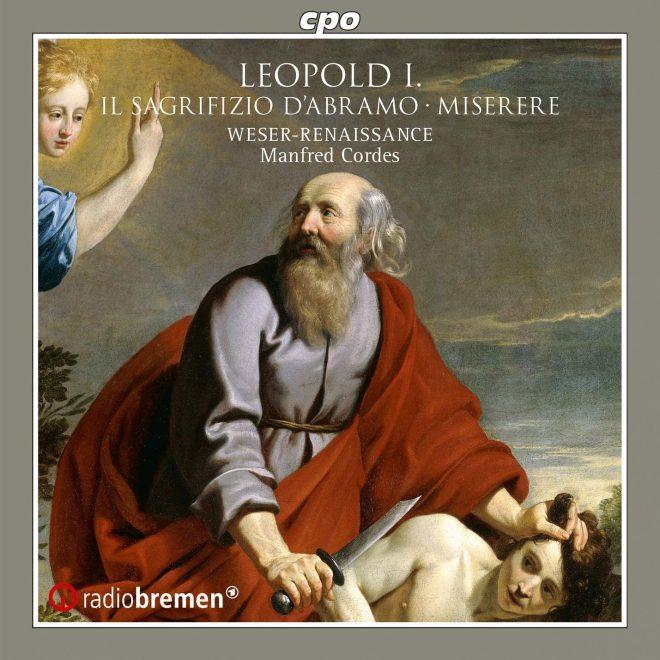 CD cover Leopold I oratorio