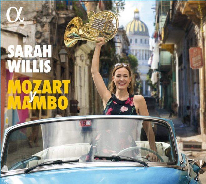 CD cover Sarah Willis Mozart Mambo