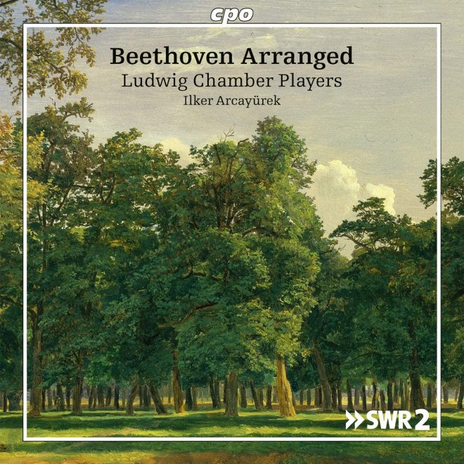 CD cover of Beethoven arrangements for tenor and chamber ensemble