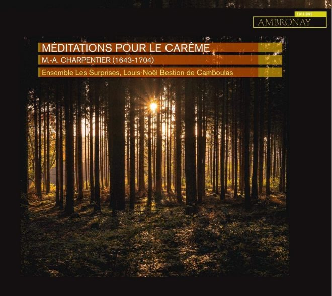 CD cover of Les Surprises Charpentier Pour le Carême