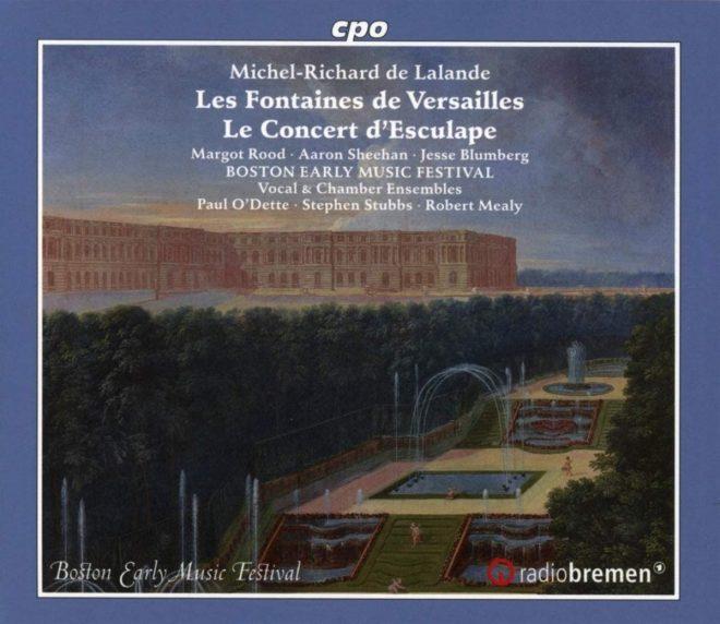 CD cover of de Lalande Les Fontaines de Versailles