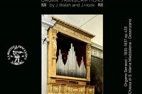 CD cover Vebber plays transcriptions of Handel on the organ