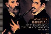 Lambert Colson CD cover of Cavalieri imperiali Cornetto virtuosi in Vienna