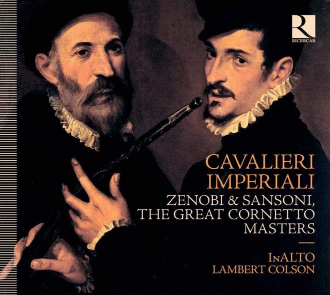 Lambert Colson CD cover of Cavalieri imperiali Cornetto virtuosi in Vienna