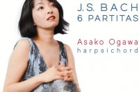 Asako Ogawa Bach partitas on harpsichord