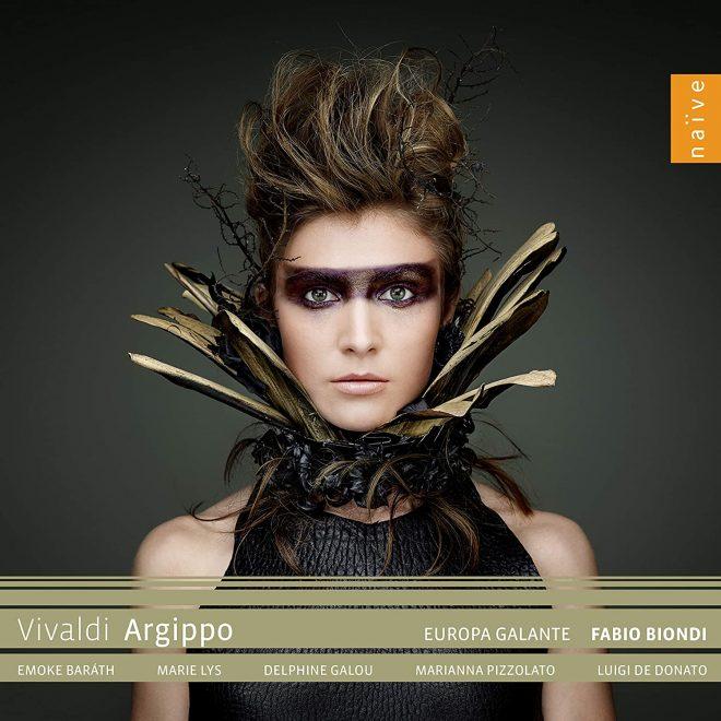 CD cover Fabio Biondi directs Vivaldi's Argippo