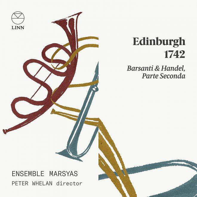 CD cover Edinburgh 1742 Ensemble Marsyas Parte seconda