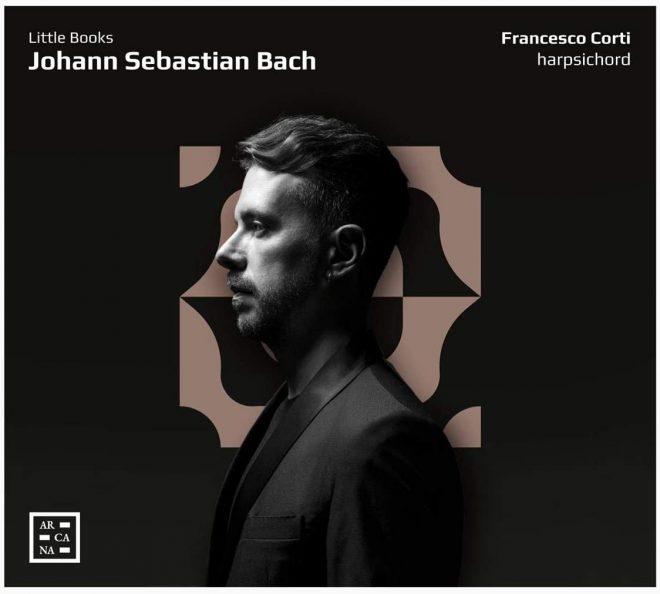 CD cover Francesco Corti Bach Little Books