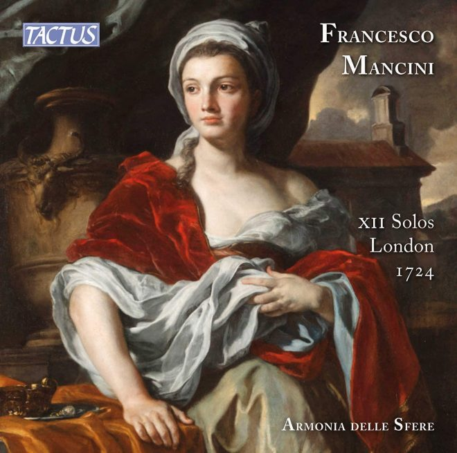CD cover of Mancini XII solos Armonia delle Sfere