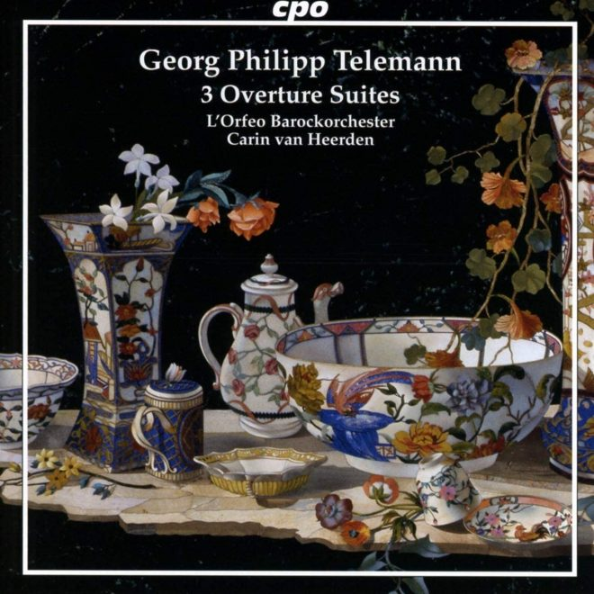 CD cover of Telemann L'Orfeo Barockorchester