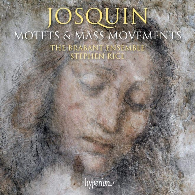 CD cover of hyperion Brabant Ensemble Josquin