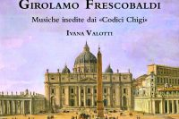 CD cover of Ivana Valotti playing Frescobaldi on organ
