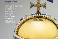 CD cover of King's Consort Royal Odes on Vivat