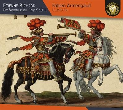 CD cover of L'Encelade Etienne Richard harpsichord teacher Fabien Armengaud