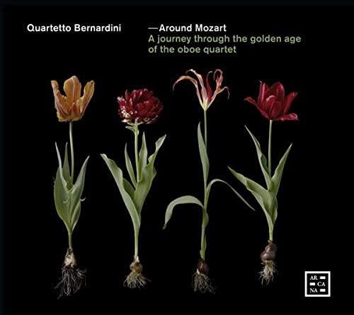 CD cover Around Mozart The golden age of the oboe quartet Bernardini