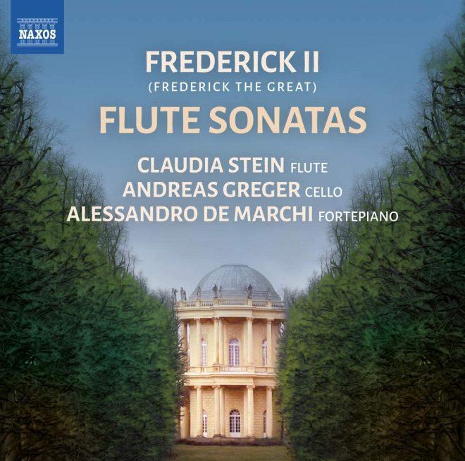 CD cover Frederick II Flute sonatas on Naxos