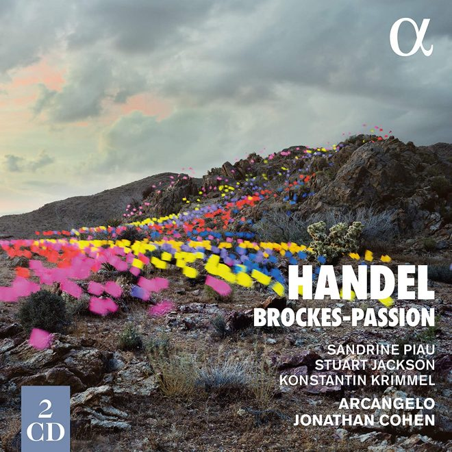 CD cover Handel Brockes Passion Cohen Alpha Classics