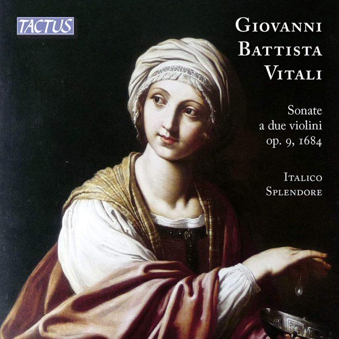CD cover Vitali op 9 Italico Splendore