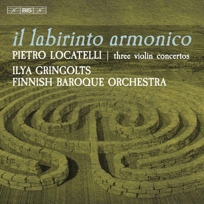 CD cover il labirinto armonico