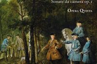 CD cover of Besseghi Sonate ca camera op. 1