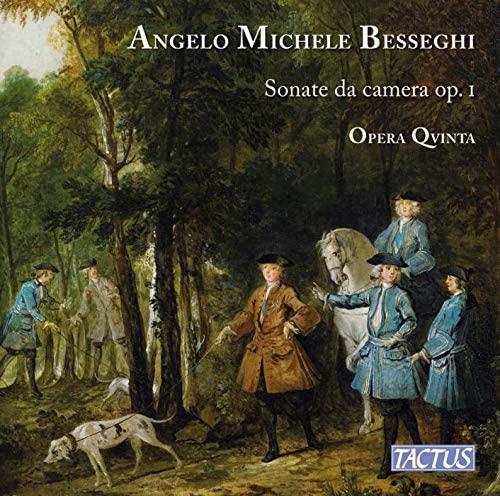 CD cover of Besseghi Sonate ca camera op. 1
