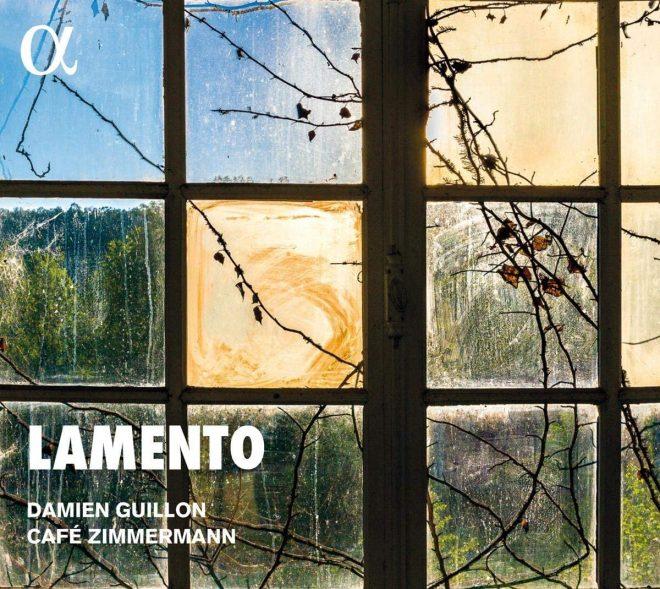 CD cover of Lamento Damien Guillon Cafe Zimmermann