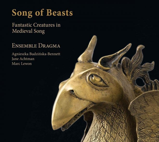 CD cover of Song of Beasts Ensemble Dragma