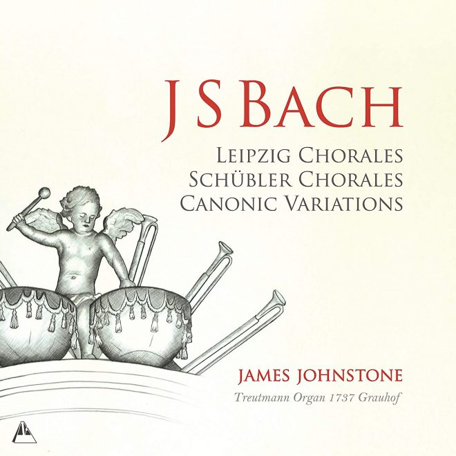 James Johnstone Bach organ vol 3