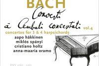 CD cover Bach Concerto à Cembali concertati vol. 4