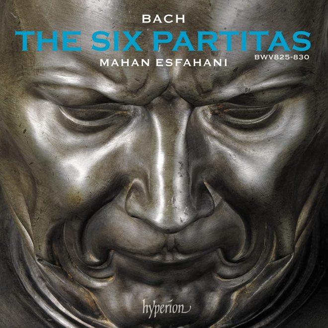 CD cover Bach Six Partitas Mahan Esfanhani