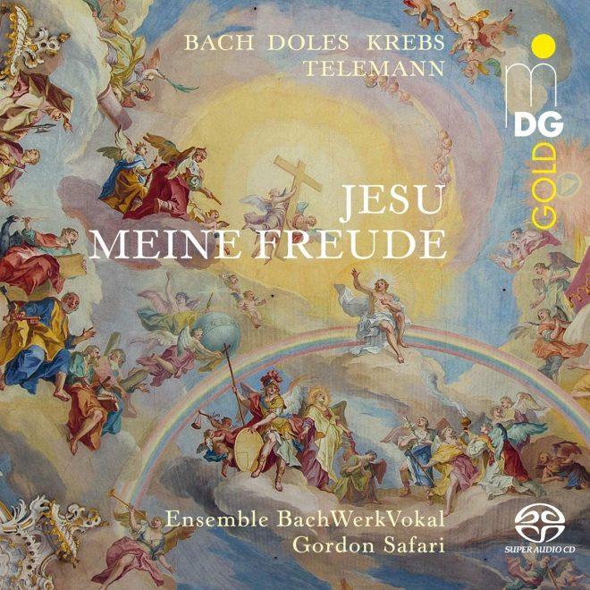 CD cover Jesu meine Freude MDG Gold