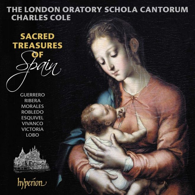 CD cover London Oratory Sacred Treasures of Spain