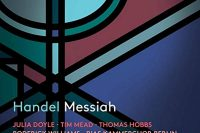 CD cover Pentatone Handel Messiah Justin Doyle RIAS