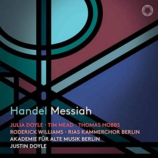 CD cover Pentatone Handel Messiah Justin Doyle RIAS