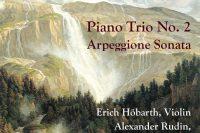 CD cover Schubert Piano Trio no 2 Arpeggione sonata Hobarth Rudin Häkkinen