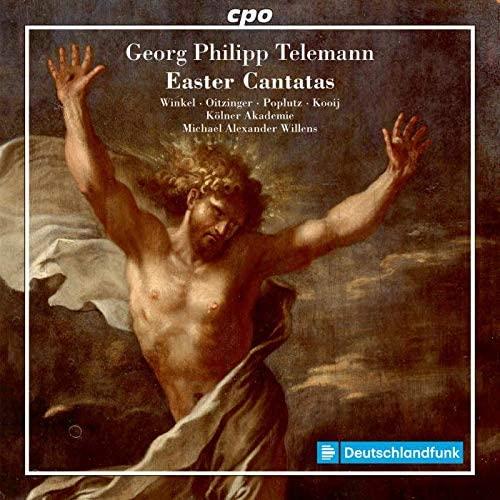 CD cover Telemann Easter Cantatas Willens Kölner Akademie
