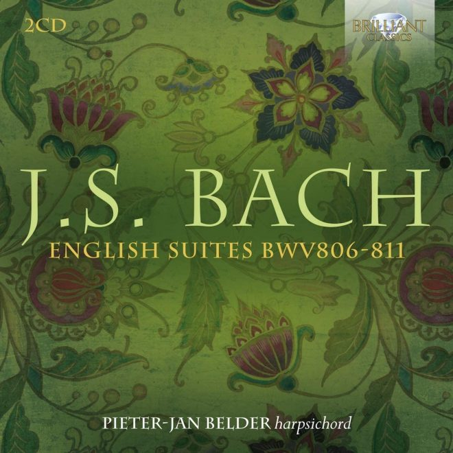 CD cover of Belder English Suites on Brilliant Classics