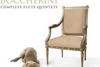 CD cover of Boccherini Flute Quintets