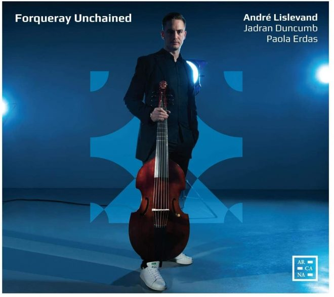 CD cover of Forqueray Unchained Lislevand