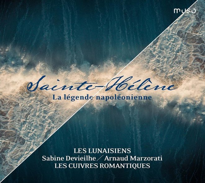 CD of Sainte Hélène Napoleonic music