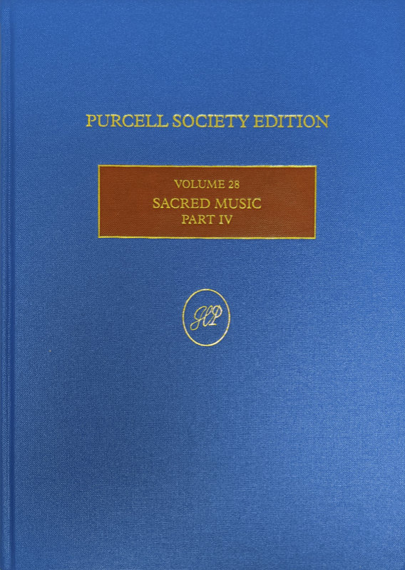 Purcell Sacred music volume 28
