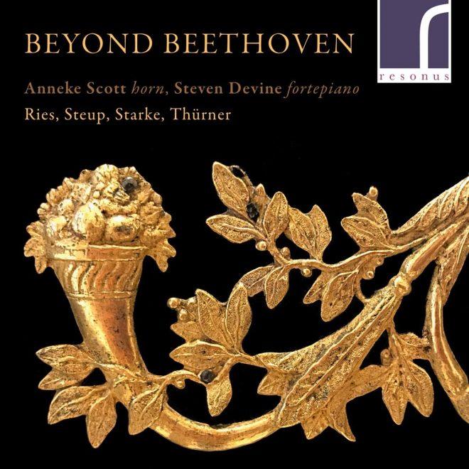 CD cover Anneke Scott Stephen Devine Beyond Beethoven