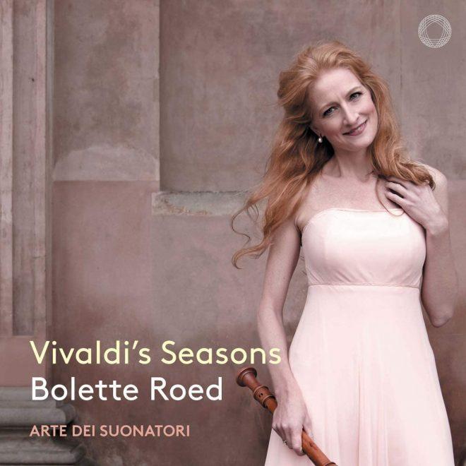 CD cover Bolette Roed Vivaldi 4 seasons