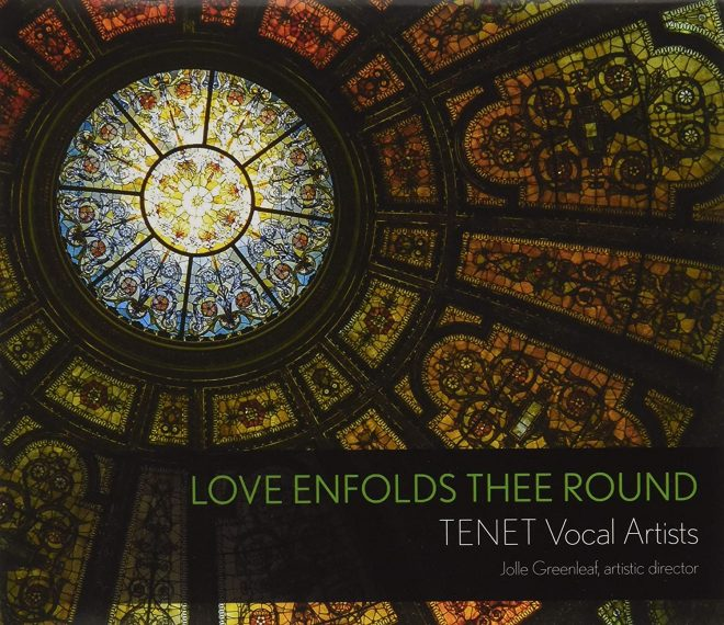 CD cover Love enfolds thee round TENET