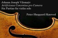 CD cover Sheppard Skærved Vilsmayr partitas