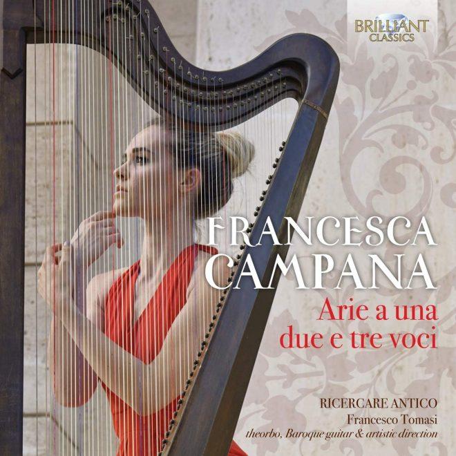 CD cover of Campana Arie Ricercare Antico Brilliant Classics